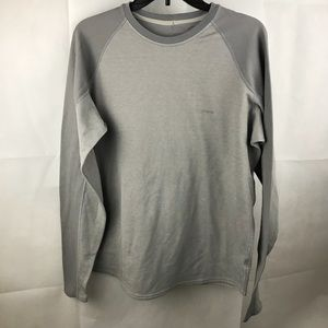 Patagonia gray outdoor shirt capilene